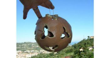 Immagine di una palla di Natale