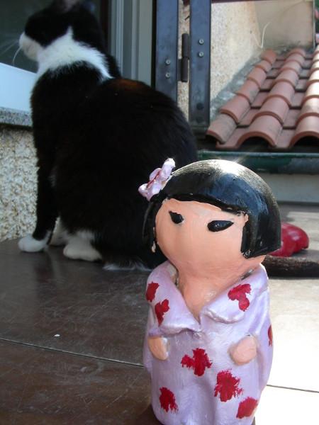 Immagine di una bambolina Kokeshi proporzioni