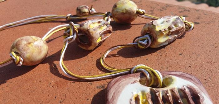 Immagine di una collana autunnale particolari