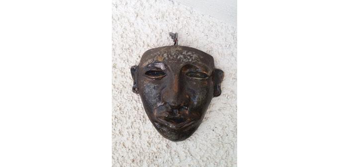 Immagine di una maschera sudamericana