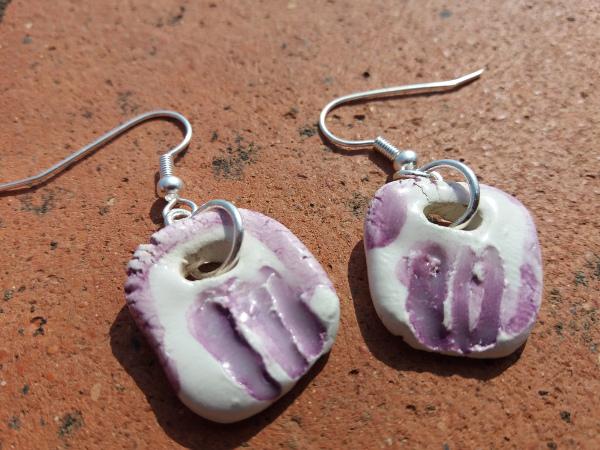 Immagine di orecchini colore viola