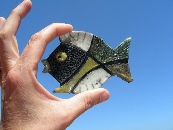 Immagine di un pesce raku ossidi piccolo