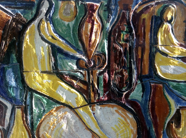 Immagine di ceramiche in strada ad Albissola Marina