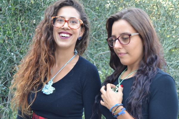 Giulia e Mia modelle per Terra Accesa