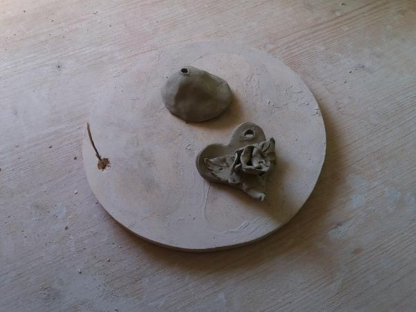 Immagine di piccole creazioni di ceramica