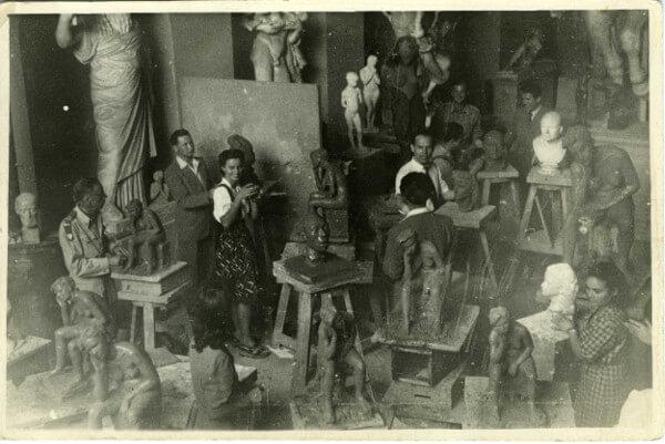 Immagine di Arturo Martini all'Accademia di Venezia