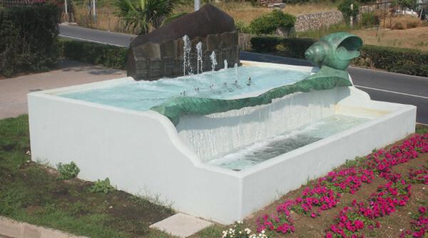 Immagine della fontana Armonie Loanesi di Fulvio Filidei