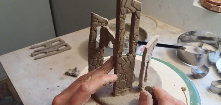 Borghi liguri in ceramica artigianale