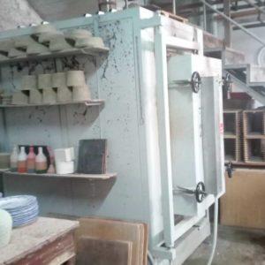 Immagine di uno dei forni della Fabbrica Giuseppe Mazzotti