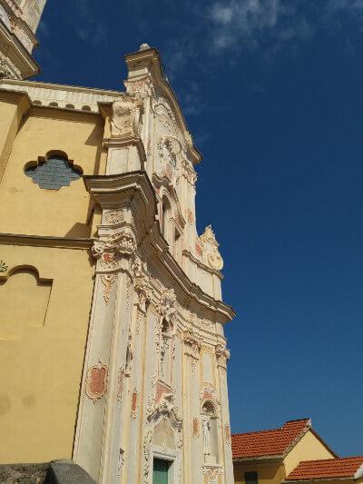 Immagine della Chiesa dei Corallini a Cervo
