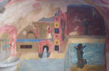 Immagine di un Trompe l'oeil a Costarainera